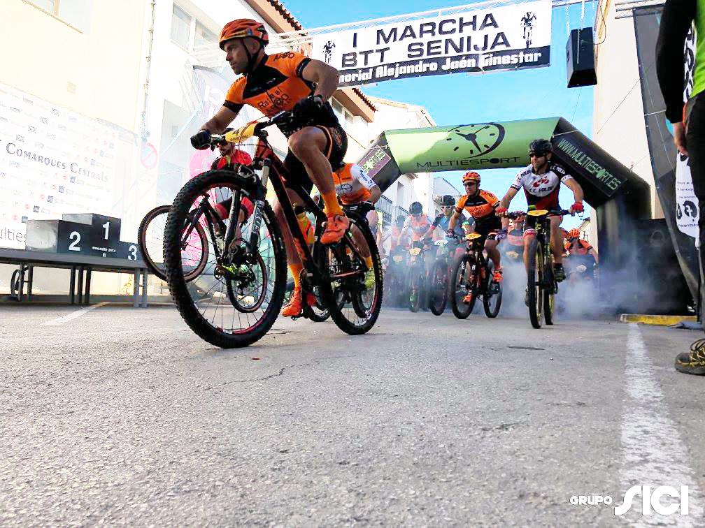 Foto Grupo-SICI Patrocinador Oficial I Marcha BTT Senija